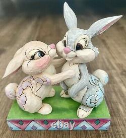 Enesco Jim Shore Disney Traditions Bambi Retraité Thumper Twitterpation