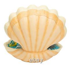 Enesco Jim Shore Disney Traditions Little Mermaid Shell Scène Nib 6005956