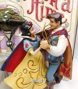 Figur Disney Enesco Jim Shore Traditions Storybook 4031481 Livre D'histoires Blanche-neige