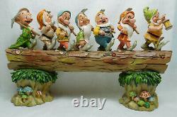 Figur Disney Enesco Traditions Shore 4005434 7 Zwerge Auf Dem Baumstamm Heimweg