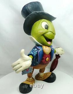 Figur Disney Enesco Traditions Shore 6005972 Déclaration De Pinocchio Jiminy Grille