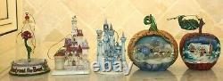 Jim Shore 4 Ornament Sets Cendrillon Blanche-neige Beauté Et Les Méchants Bête