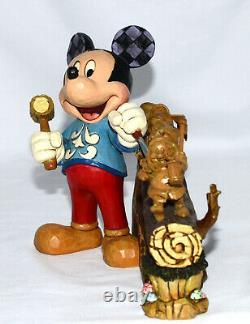 Jim Shore Célèbre 10 Ans De Traditions Disney Mickey, 7 Nains, 4046045