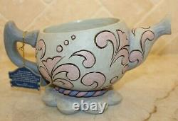 Jim Shore Disney Alice Au Pays Des Merveilles Tea Cup Planter