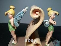 Jim Shore Disney Avez-vous Été Méchant Ou Nice Tinker Bell Figurine Nib 4013972