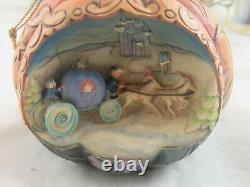 Jim Shore Disney Cendrillon 5 Pièce Ornement Set In Box