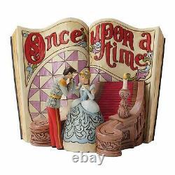 Jim Shore Disney Cendrillon Storybook Greatest Story Ever Told 4031482 Nouveau Rare