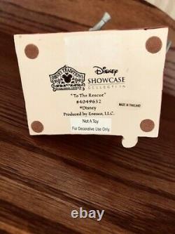 Jim Shore Disney Enesco Mikey À La Rescue 4049632 Pompier Pas De Boîte. Royaume