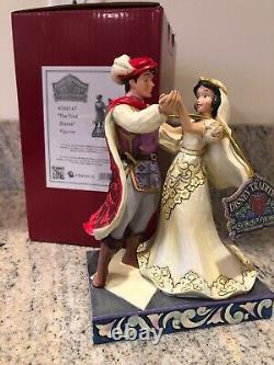 Jim Shore Disney Princess The First Dance Snow White Prince Mariage 4056747