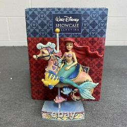 Jim Shore Disney Princesse De Mer Ariel Little Mermaid Carrousel Horse 4011742