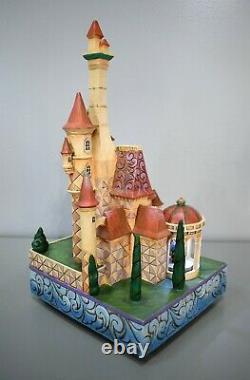 Jim Shore Disney Traditions Beauté Et La Bête Enchanted Kingdom Castle Rare