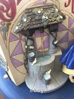 Jim Shore Disney Traditions Blanche-neige Storybook #4031481 À La Retraite New Withbox