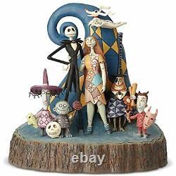 Jim Shore Disney Traditions Cauchemar Avant Noël Jack Sculpté Par Coeur