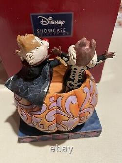 Jim Shore Disney Traditions Chip & Dale Tiny Tricksters Pumpkin Nouveau 4057947