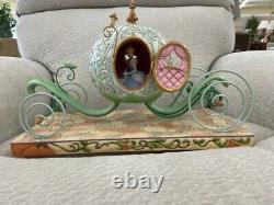 Jim Shore Disney Traditions Cinderella Enchanted Carriage Withlight Figurine Nib