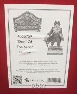 Jim Shore Disney Traditions Devil Of The Seas Davy Jones 4056759 Nouveau Avec Box