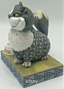 Jim Shore Disney Traditions Devious Lucifer Cat De Disney's Cendrillon 4007214