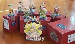 Jim Shore Disney Traditions Enesco Blanche Neige 7 Nains Boîtes Mots Clés