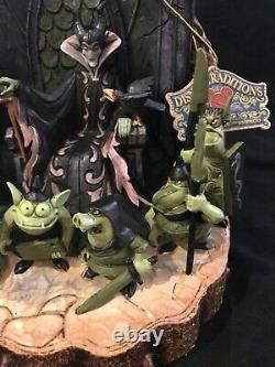 Jim Shore Disney Traditions Forces Of Evil Maleficent Figurine Villains Showcase