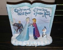 Jim Shore Disney Traditions Frozen Storybook Acte True Love Jim Shore 4049644