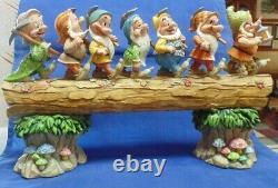 Jim Shore Disney Traditions Homeward Bound Sept Nains Figurine