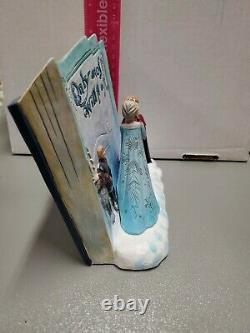 Jim Shore Disney Traditions Livre D'histoires Congelé Acte D'amour # 4049644