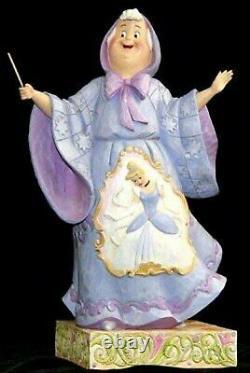 Jim Shore Disney Traditions Magical Transformation (cendrillon / Fairy Godmthr)