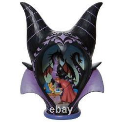 Jim Shore Disney Traditions Maleficent Scène De L'héaddress Figurine 6008996 Nouveau 2021