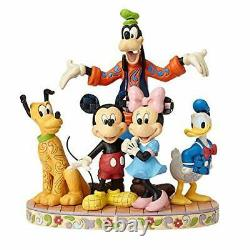 Jim Shore Disney Traditions Mickey Fab Cinq Mickey Minnie Goofy Figurine 4056752