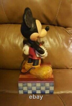 Jim Shore Disney Traditions Mickey Mouse Big Smile Big Heart Big Fig Figure