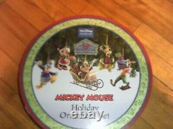 Jim Shore Disney Traditions Mickey Mouse Ornement De Vacances Set 5 Pcs. Regarder! Plume