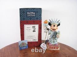 Jim Shore Disney Traditions Minnie Mouse Lady Liberty Nib 4032877