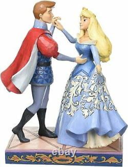 Jim Shore Disney Traditions Par Enesco Aurora Et Prince Philip Dancing Figurine