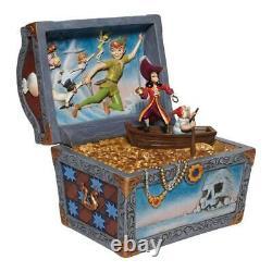 Jim Shore Disney Traditions Peter Pan Treasure Chest Scène Figurine 6008063