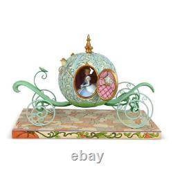 Jim Shore Disney Traditions Pumpkin Coach Avec Figurine Cendrillon 6007055