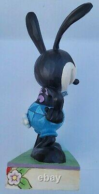 Jim Shore Disney Traditions Rare Oswald The Lucky Rabbit #4055408