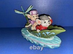 Jim Shore Disney Traditions Rescuers Figurine À La Rescousse 4055405 40e Anniv