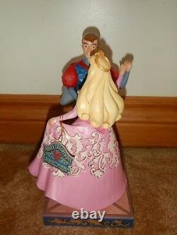 Jim Shore Disney Traditions Robe Rose Aurora 4059733 Figurine Neuf