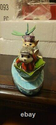 Jim Shore Disney Traditions Sauveurs Figurine À La Rescousse 4055405 40th Anniv