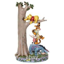 Jim Shore Disney Traditions Tree Avec Ourson Et Figurine Amis 6008072