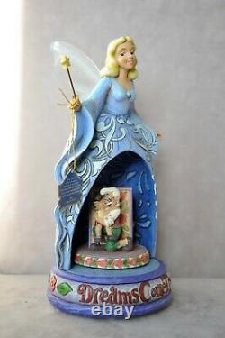 Jim Shore Dreams Come True Blue Fairy Disney Pinocchio 4010022 Musique & Lumière