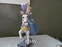 Jim Shore Enesco Disney Traditions Princesse Des Rêves Carrousel Cheval Cendrillon
