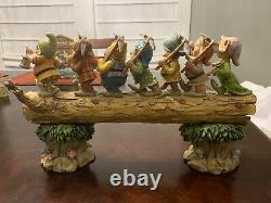 Jim Shore Homeward Bound Figurine Disney Blanche-neige & Sept Nains 4005434
