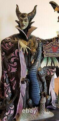 Jim Shore Maléfique Disney Villain Nib