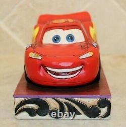 Jim Shore Rare Disney Cars Lightning Mcqueen Ka Chow 4023567