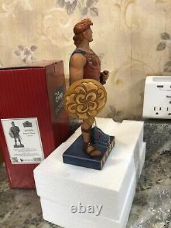 Jim Shore Rare Hercules Mythique Hero 4055406 W Box 8 Tall Disney Mint
