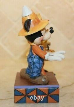 Jim Shore Rare Mickey & Minnie Mouse Halloween Compte À Rebours À Candy 4057948 Nib