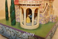 Jim Shore Rare Video Beauty And The Beast Enchanted Kingdom Castle 4013250