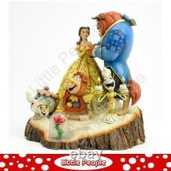 Jim Shore Tale Beauté Et La Bête Figurine Disney Traditions