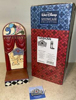 Jim Shore Walt Disney Showcase Marionette Stand 4031311 Nouveau Dans La Boîte! Rare